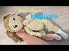 Boneca Amigurumi- Melissa - parte 1 — Video | VK Crochet Hats, 1, Teddy Bear, Toys, Animals, Youtube, Florida, Crochet Animal Amigurumi, Amigurumi Doll