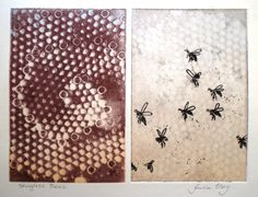 Since childhood Julia has loved anything to do with paint, pencils, ink, chalk and paper. Stingless Bees, Textile Prints, Lovers Art, Printmaking, Illustration Art, Graphic Design, Inspired, Drawings, Creative