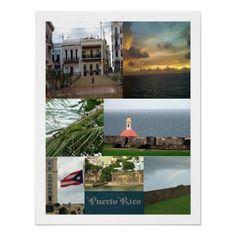 San Juan, Puerto Rico collage
