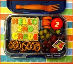 The Lucky Lunchbox: Hello 2nd Grade...