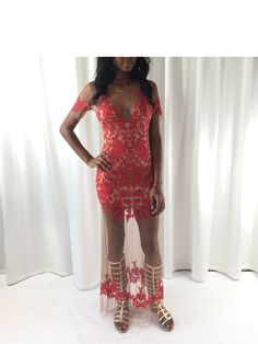 Hippie-Chic! We are loving our For Love & Lemons Embroidered Dress paired with Stuart Weitzman Gladiator Sandals! Happy Shopping!  Polished & Primped ATL