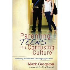 Absolutely love Mark Gregston's books for parents navigating the teen years.....so, so, so helpful!
