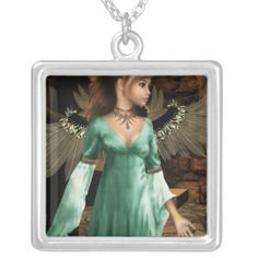 Castle Angel Custom Necklace