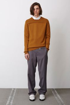 Opening Ceremony Fall 2015 Menswear - Collection - Gallery - Style.com // Shades of Ochre