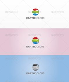 Earth Colors by durogerti This a beautiful logo template full of colors simple for technology companies, file format is eps very easy to edit it font that i