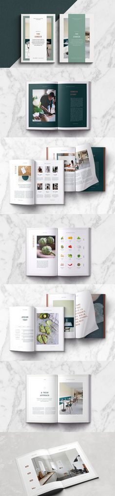 Sønder Cookbook Template / Recipe Book Template / 30 Pages. Compatible with: Adobe InDesign. File Size: 126.54 MB. Vector. Layered. Recipe Book Templates, Cookbook Template, Indesign Templates, Adobe Indesign, Cookbook Recipes, Guide Book, File Size, Lettering, Simple