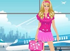 Barbie Bon Voyage   Barbie prend toujours soin de son apparence et elle adore tout simplement s'habiller. Par conséquent, il n'est pas différent quand elle va en vacances. Aidez-la à faire des choix.