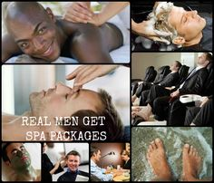 REMEMBER THAT SPECIAL MAN IN YOUR LIFE ON FATHER'S DAY....    REAL MEN ENJOY SPA DAYS TOO!!!!!!!