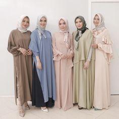 Muslim Dress, Hijab Dress, Hijab Outfit, Dress Up, Muslim Girls, Muslim Women, Abaya Fashion, Muslim Fashion, Girl Fashion