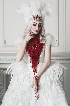 Alternative model Kassie Katrin Lanfire Dress: Alice Corsets / Headpiece: MyWitchery Photo: Berkas Lena / Edit:Татьяна Оболенская Welcome to Gothic and Amazing | www.gothicandamazing.com