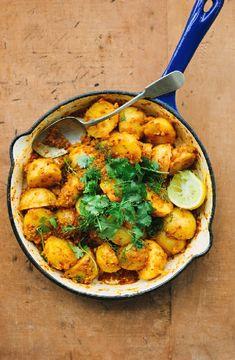Low FODMAP Recipe and Gluten Free Recipe - Potato curry http://www.ibs-health.com/low_fodmap_potato_curry.html