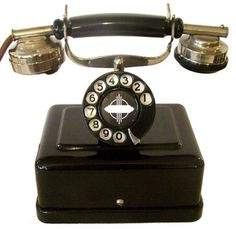 Art Deco Telephone  ~Repinned Via Jenny Marchesan