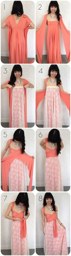 how to add lace to a convertible dress;    Patterns/instructions on how to sew an infinity dress at:  http://sewlikemymom.com/little-red-infinity-dress-tutorial/           |    http://seecatecreate.com/the-infinity-wrap-dress-this-will-blow-your-mind/      |     http://www.projectwedding.com/ideas/127629/infinity-convertible-or-wrap-twist-dress: