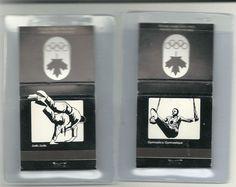 Lot of (2) : 1976 Canada Olympics full Matchbooks
