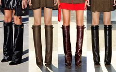 Who Looked More Bitchie? Taraji P. Henson vs. Lala Anthony In Givenchy Fold Over Riding Boots