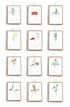 or maybe this Jaunty Animals calendar for project life dividers?