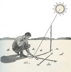 How to Find Direction Using the Sun and Stars - Survival skills - Wilderness Survival, Camping Survival, Outdoor Survival, Survival Prepping, Survival Skills, Survival Gear, Bushcraft Camping, Emergency Preparedness, Survival Gadgets