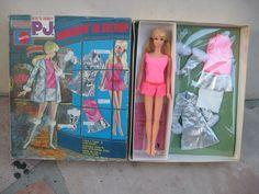 PJ Doll Barbie's Friend - Swinging In Silver Gift Set in Box JC Penney Exclusive 1969