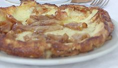 "Apple Dutch Baby With Caramel Cream Sauce {recipe} from P. Allen Smith ""An Apple a Day."""