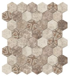 Recycled Hexagon Glass Tile Ancient Beige is an eco-friendly product for kitchen backsplash, shower, floor, and featured wall. Made with recycled glass from car's windshield and beverage bottles. Order a sample today! Kitchen Cabinet Remodel, New Kitchen Cabinets, Kitchen Flooring, Kitchen Backsplash, Backsplash Ideas, Tile Ideas, Countertop, Bathroom Floor Tiles, Tile Floor