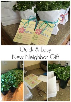 Moving Tips and a New Neighbor Gift. This is a great idea!