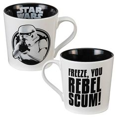 Star Wars Freeze, You Rebel Scum! 12 oz. Ceramic Mug Vandor Star Wars Mugs