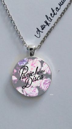 Panic At the disco flower printed elegant by amphetaminenecklace