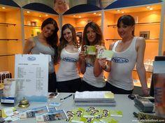 """Le """"Snelli & Belli girls"""" in posa per una foto, sabato 4 maggio al Centro Estetico Mary Club (Centro Commerciale Cremona Due)"""