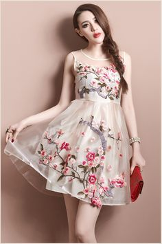 Cheap Dresses on Sale at Bargain Price, Buy Quality organza wedding dress, organza gift bags wholesale, organza party dress from China organza wedding dress Suppliers at Aliexpress.com:1,Decoration:Embroidery 2,Pattern Type:Print 3,Gender:Women 4,Waistline:Natural 5,Neckline:Boat Neck