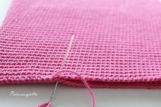 Prinsessajuttu: Toivepostaus: Virkattu kosmetiikkapussi, OHJE Princess Stories, Crochet Purses, Cosmetic Bag, Pouch, Cosmetics, Knitting, Accessories, Crochet Bag Patterns, Crochet Bags