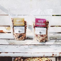 Clear Packaging, Granola Packaging Takeaway Packaging, Bread Packaging, Organic Packaging, Honey Packaging, Fruit Packaging, Bakery Packaging, Food Packaging Design, Coffee Packaging, Packaging Ideas