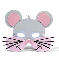 Máscara de ratón en fomy | idisfraz, ideas para tu disfraz