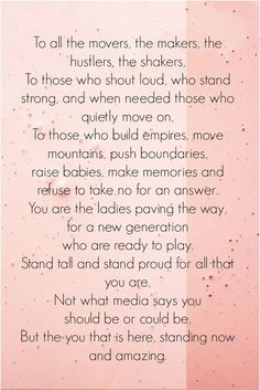 List of Top 18 International Women's Day Quotes International Womens Day Quotes, Happy International Women's Day, Some Inspirational Quotes, Positive Quotes, Motivational, Body Positive, Trust Quotes, Life Quotes, Women's Day Quotes