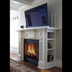 Spanish Fireplace Designs For Your Living-Room | Design Ideas on ...