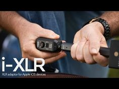 i-XLR lighting to XLR adaptor and other new products by RØDE www.motionvfx.com/B4181 #Microphone #Sound #DSLR #VideoEditing #iPhone