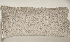 DIY dessa almofada de trico