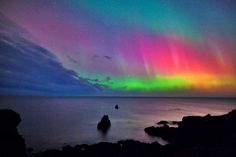 Aurora Borialis (Sweden)..a stunning 'must see' somewhere in Northern hemisphere!