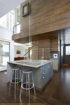 Hillsdale Screen House - Stati Uniti d'America, United States - 2012 - CR Studio Architects #design #interiors #kitchen