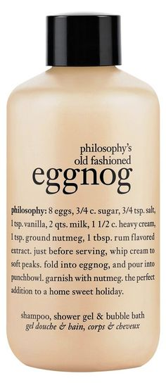 Yummy eggnog! Philosophy Products ee0986613