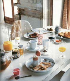 Perfect Way to Wake Up ...Breakfast with Family #PBPerfectSaturday w/ @Jessica Grinsteinner Barley & @Caitlin Burton Flemming // Sacramento Street