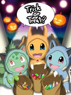 Trick Or Treat? ( Kanto ) by Winick-Lim.deviantart.com on @DeviantArt