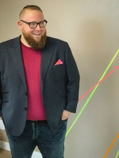 There's a company making premium bamboo t-shirts exclusively for big guys, AND they use real #plussize models in all their photos. Do you know about @bigboybamboo yet? We take a closer look (& try one with a jacket): https://chubstr.com/style/big-tall-big-boy-bamboo-shirts/