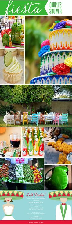 Fiesta bridal shower | Announcing Our Pinterest Party Contest Winner! | Polka Dot Design Blog ...
