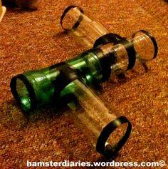 Plastic Bottle Play Tunnel - PetDIYs.com