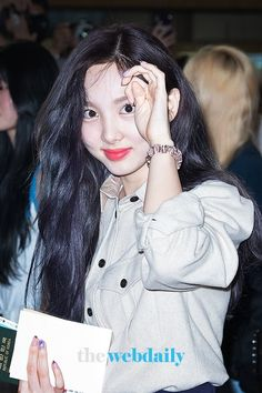 190825 GMP to HND #Nayeon #Twice South Korean Girls, Korean Girl Groups, Nayeon Twice, Im Nayeon, K Pop Music, Extended Play, One In A Million, Love Her, Kpop