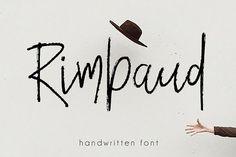Rimbaud Script by Mellow Design Lab on @creativemarket