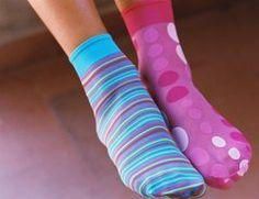 Socken Nähanleitung ohne SM