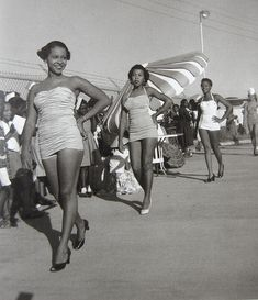 Vintage African American pinups and beauty queens.
