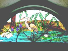"""2007 Large Panels 2nd. Place """"Great Blue Heron"""" by Robert"""