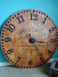 40-inch Large French Country Wall Clock. $249.00, via Etsy.